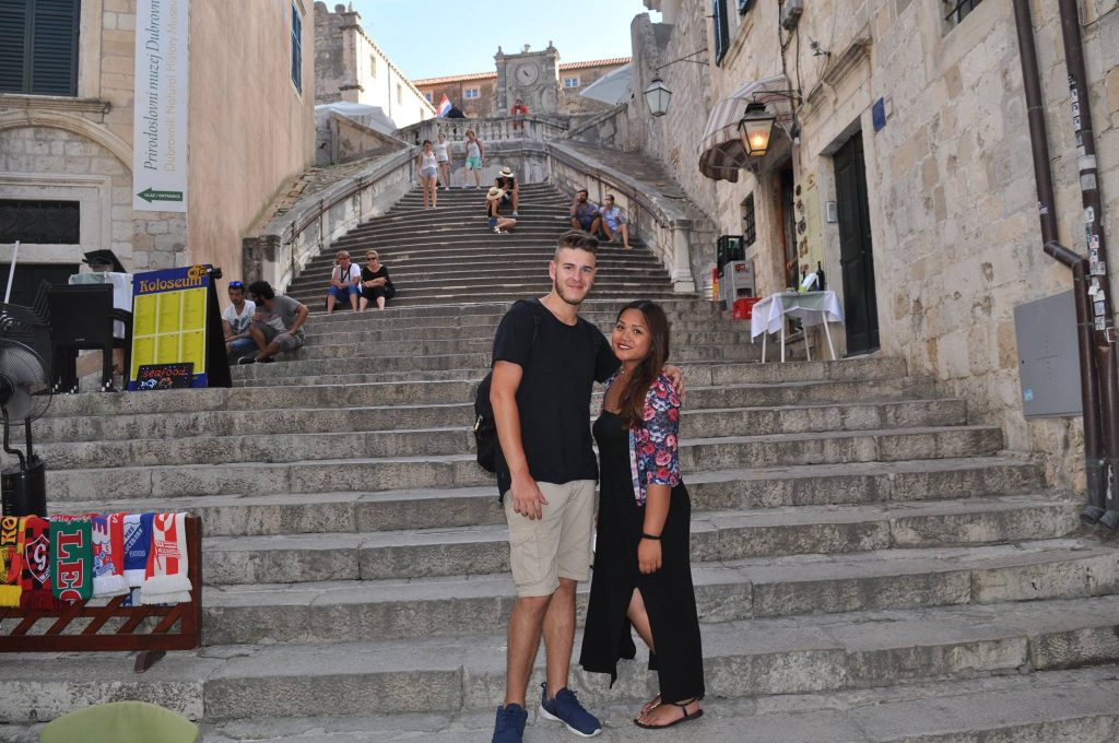 Games of thrones a Dubrovnik