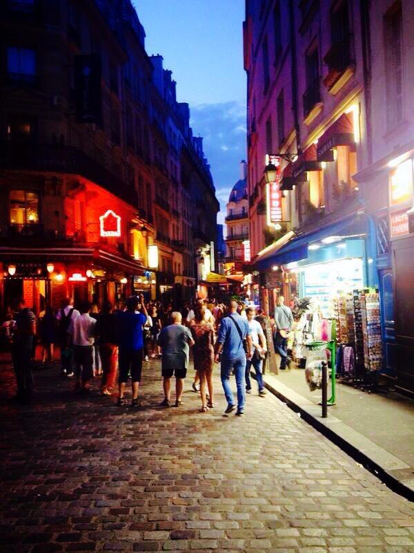 Il quartiere latino di Parigi