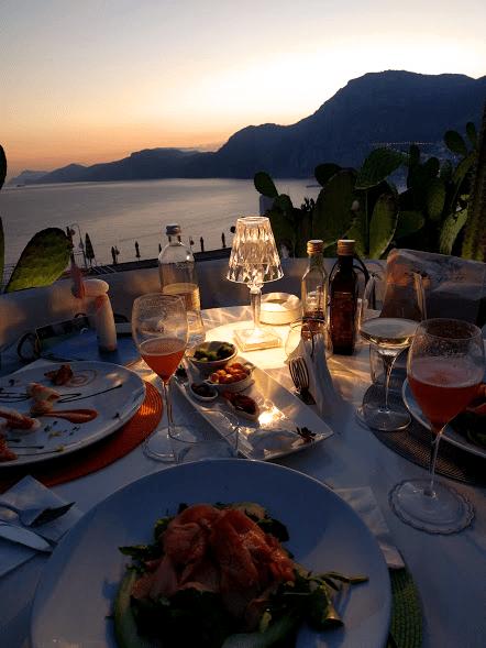 Dove mangiare in Costiera Amalfitana