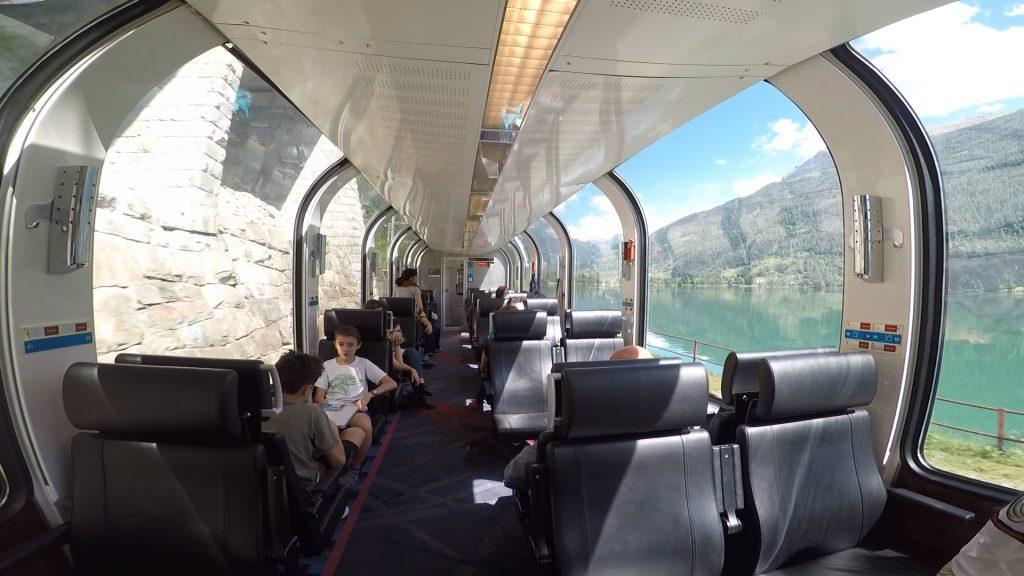 carrozza panoramica Bernina Express