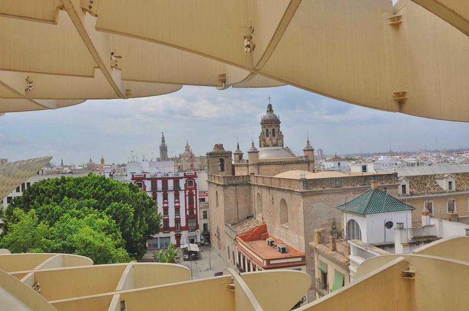 Vista panoramica dal metropol parasol Siviglia
