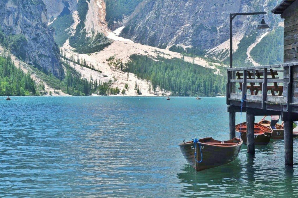 Noleggio barche lago di braies