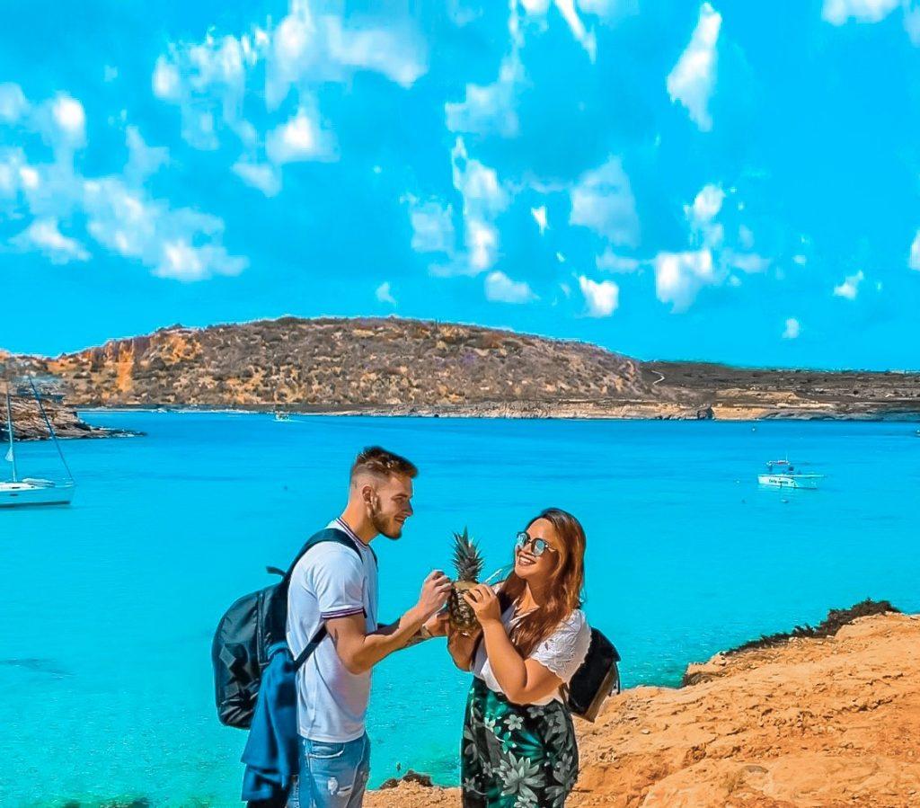 Blue Lagoon isola di Comino Malta