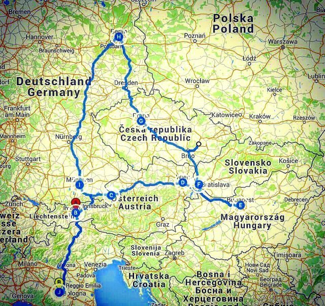 on the road europeo 2015