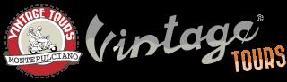logo vintage tour Montepulciano png