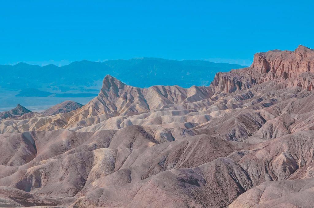 Visita alla death valley in un giorno: Zabriskie Point