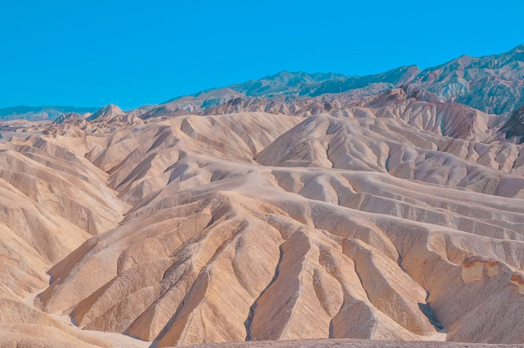 Visita alla death valley in un giorno: Zabriskie Poin