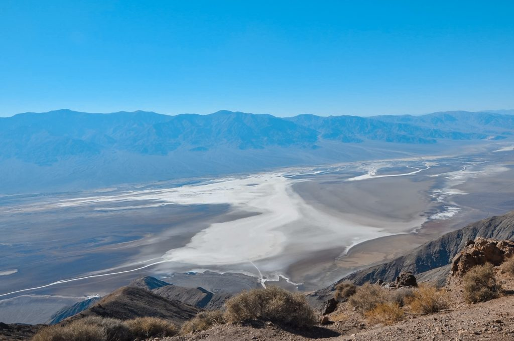 Vista Dante's view: Visita alla death valley in un giorno