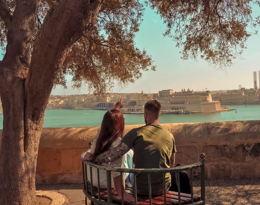 Malta: Guida completa Lower barrakka garden
