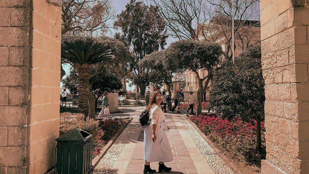 Malta: Guida completa Upper Barrakka gardens