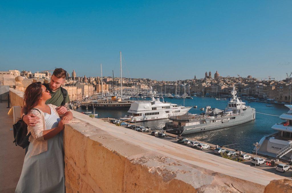 Malta: Guida completa Vista da Forte Sant'angelo Birgu Malta