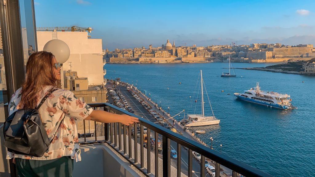 Dove soggiornare a Malta Vista dal Marina hotel di Sliema Malta