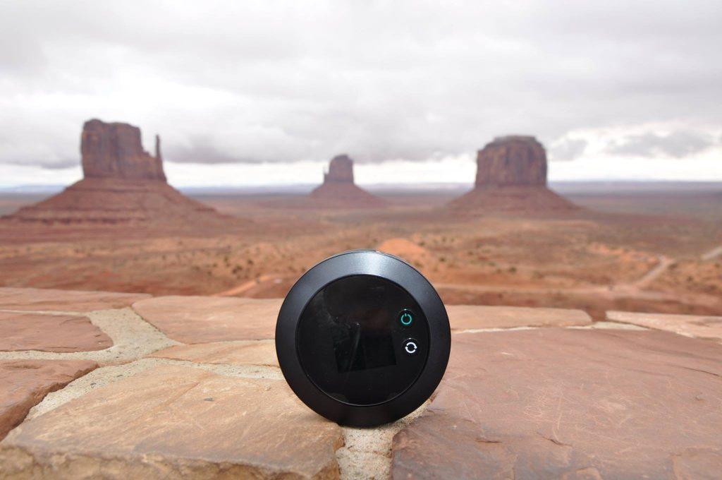 Wifi portatile alla monument valley