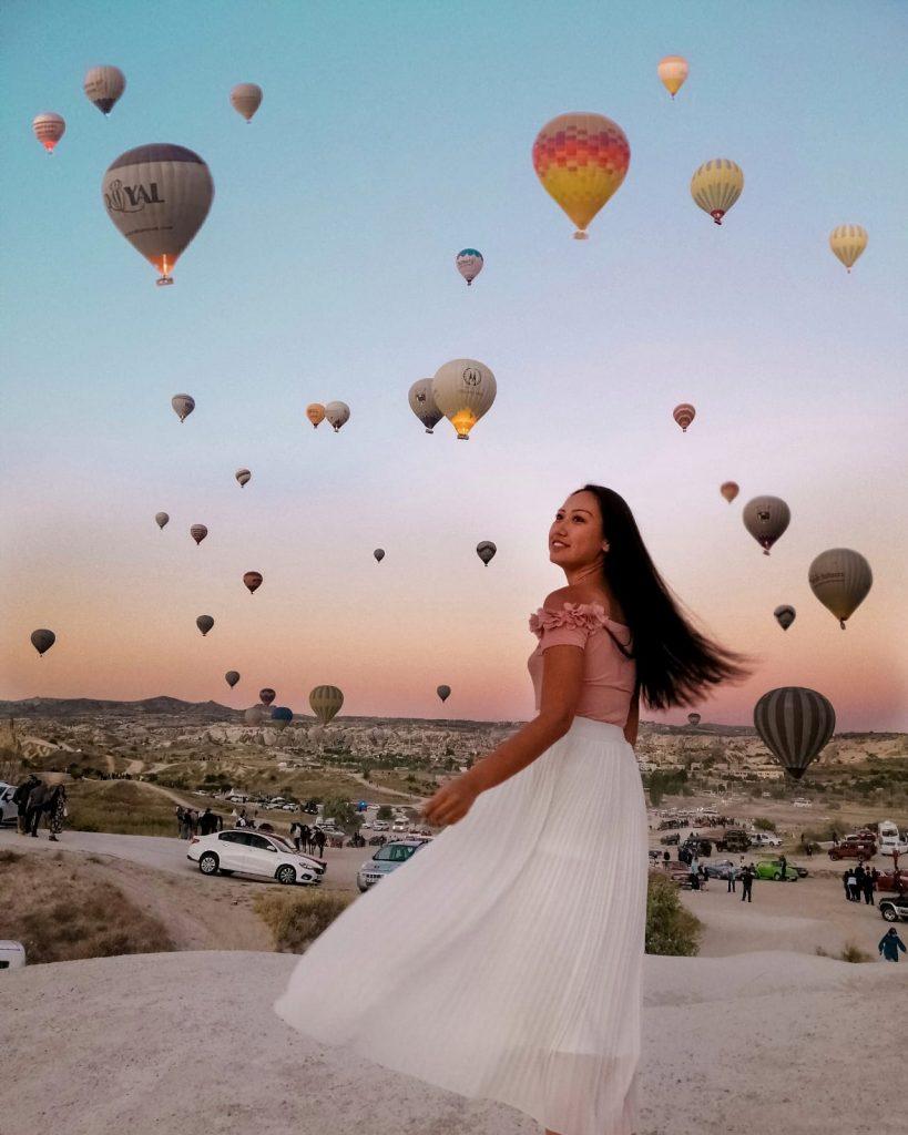 Migliori punti panoramici Mongolfiere in Cappadocia