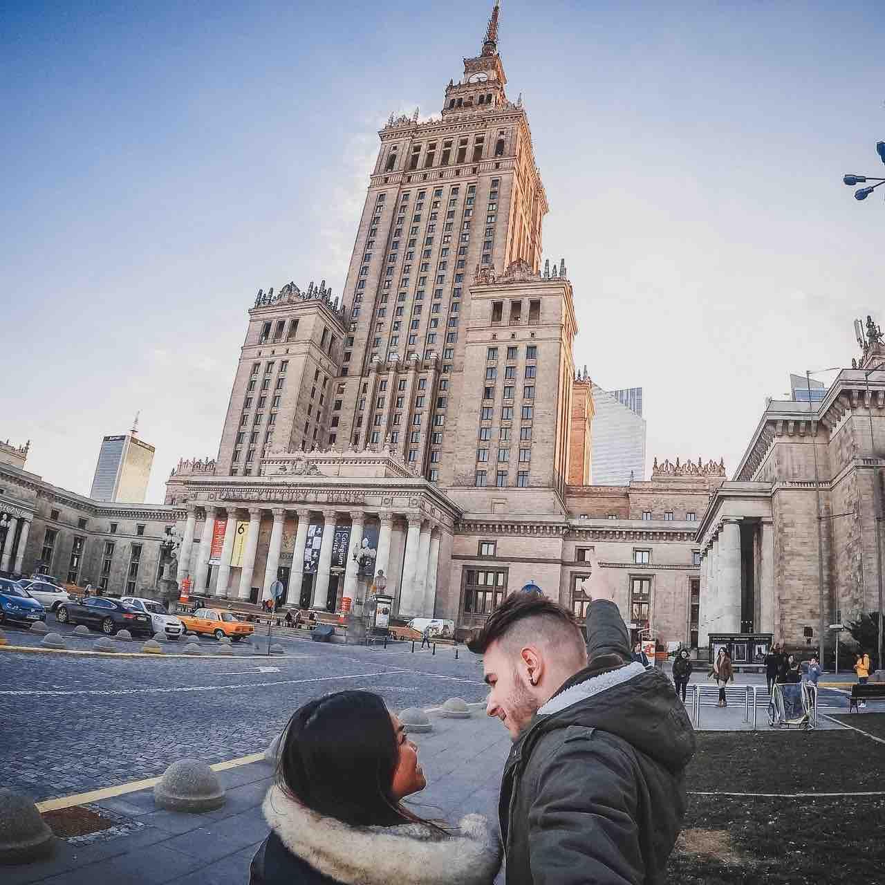 Visitare palazzo Cultura Varsavia