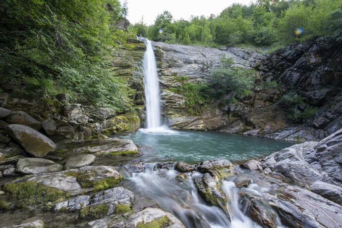 Visitare le Cascate del Golfarone Reggio Emilia