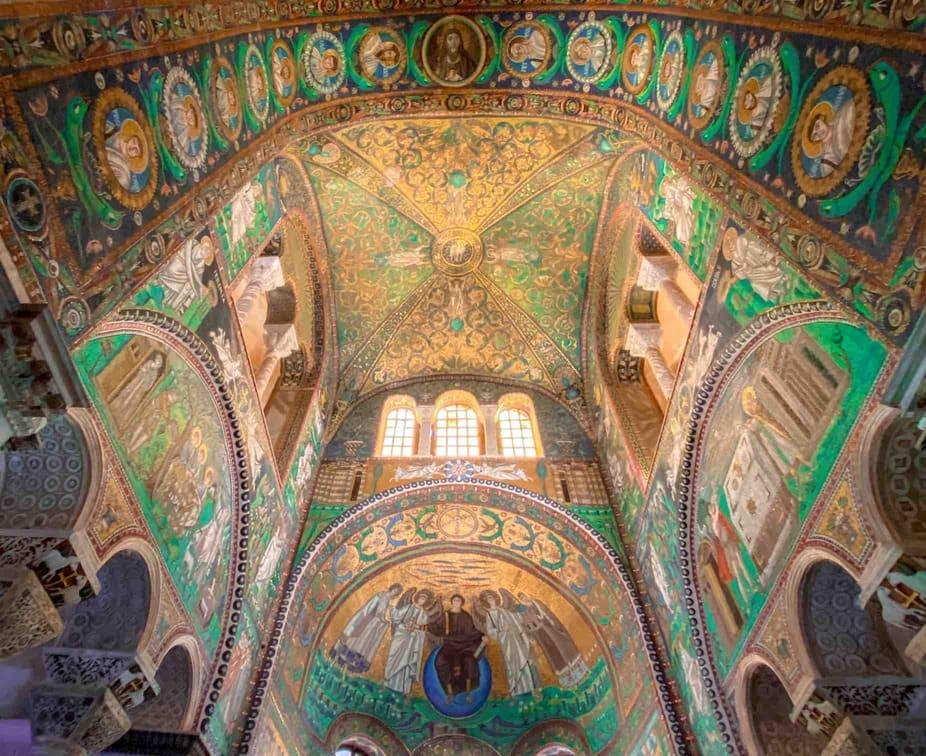 Mosaici della cupola della Basilica di San Vitale a Ravenna da vedere assolutamente in due giorni
