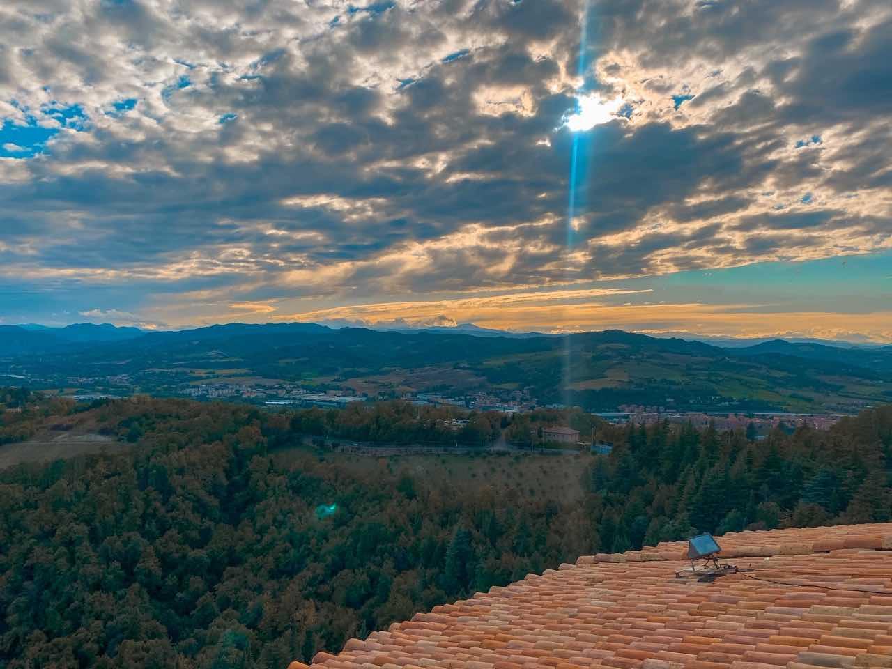 Vista panoramica santuario di San Luca