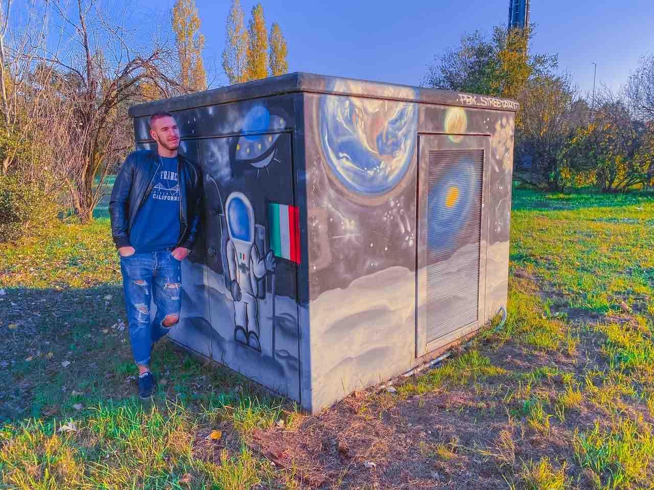 Murales di Reggio Emilia spazio