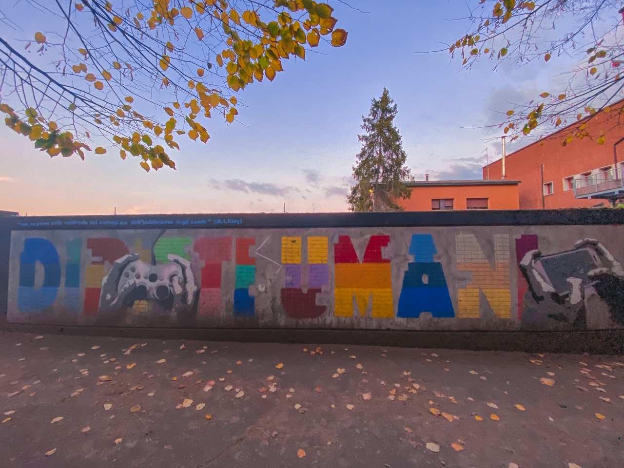 Murales di Reggio Emilia diritti umani