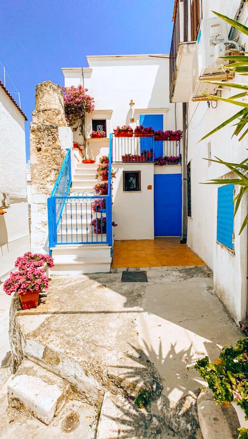 Bellissima casa instagrammabile di Peschici che ricorda Santorini