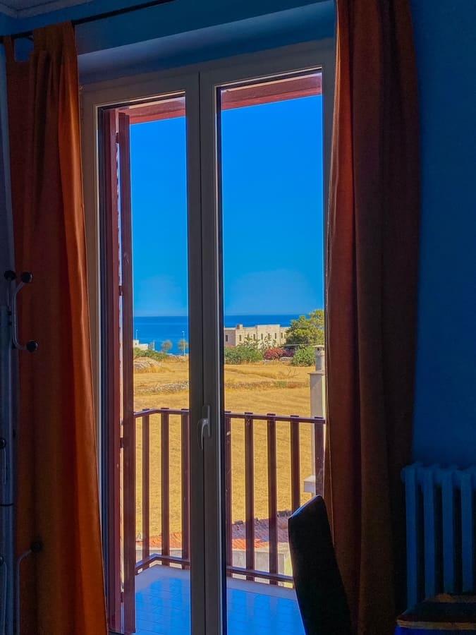 Vista hotel mediterraneo di Giovinazzo dove dormire