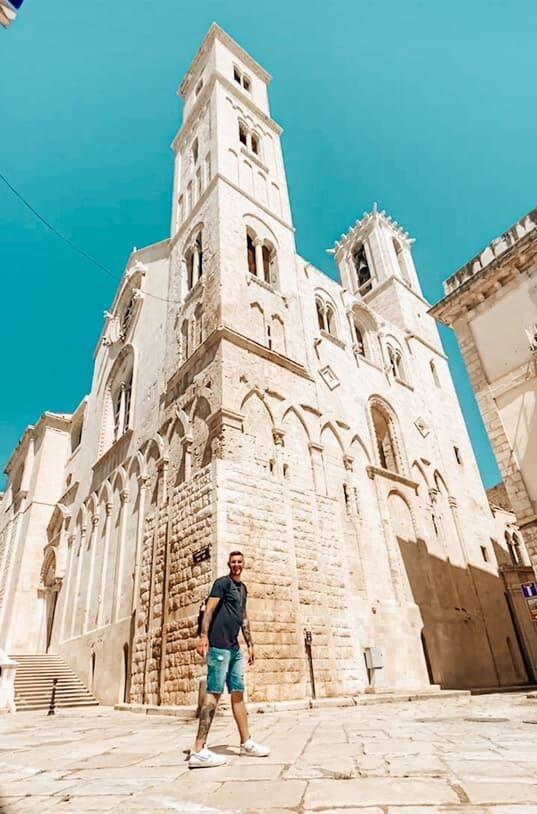 Cattedrale Santa Maria Assunta Giovinazzo instagrammabile dove fare foto